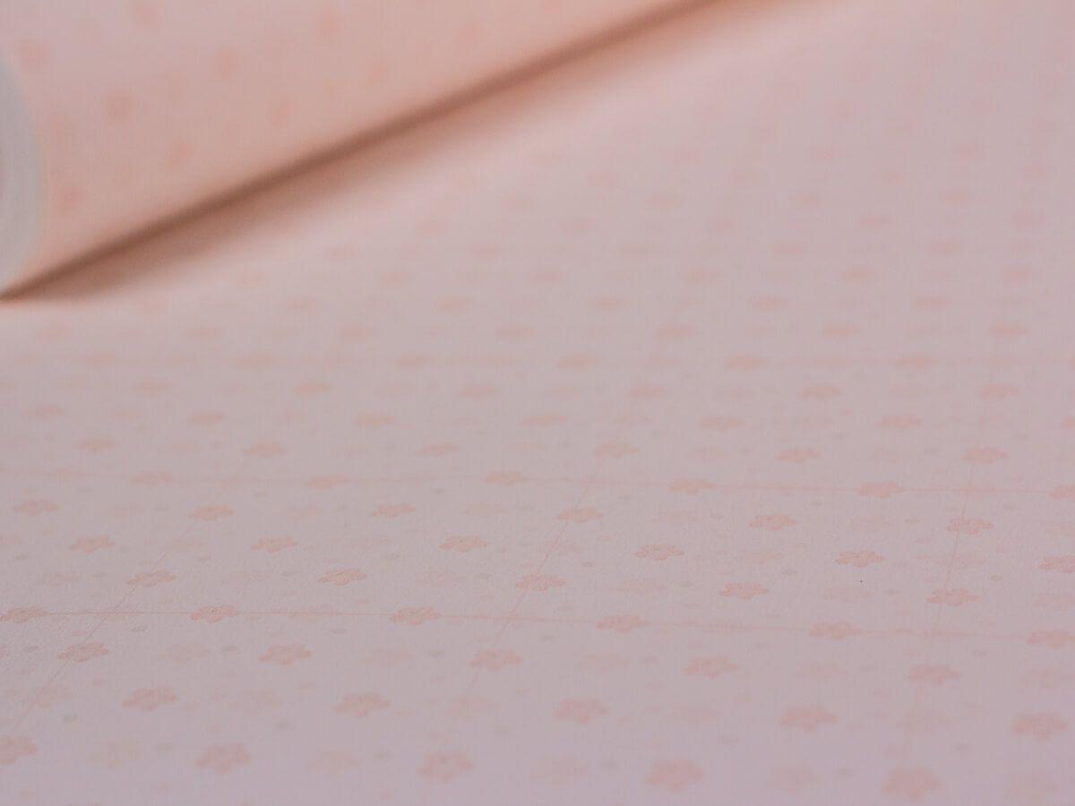 Papel De Parede Infantil Mini Flores Rosê - 390506