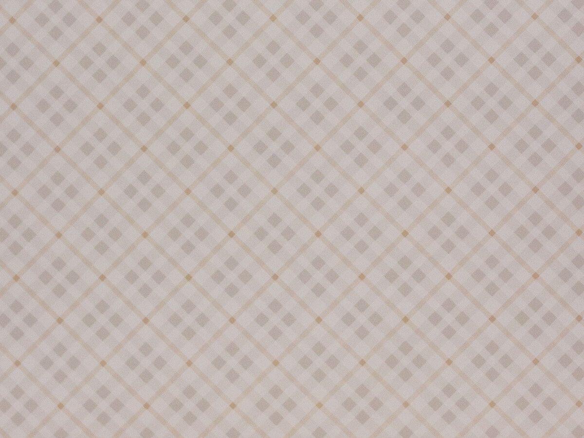 Papel De Parede Infantil Xadrez Pastel Com Bege - 390202