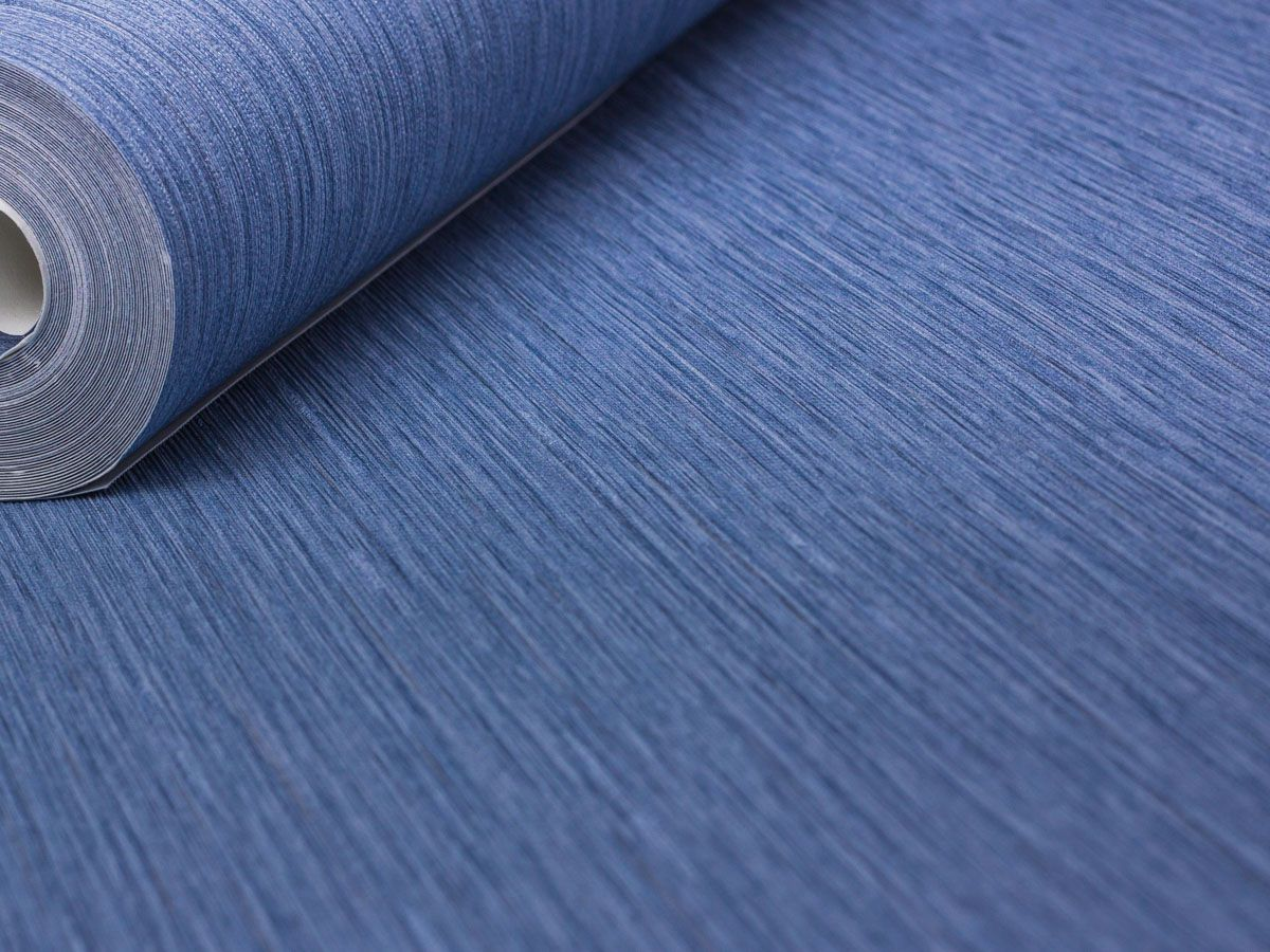 Papel De Parede Liso Escovado Jeans Palha - 87099