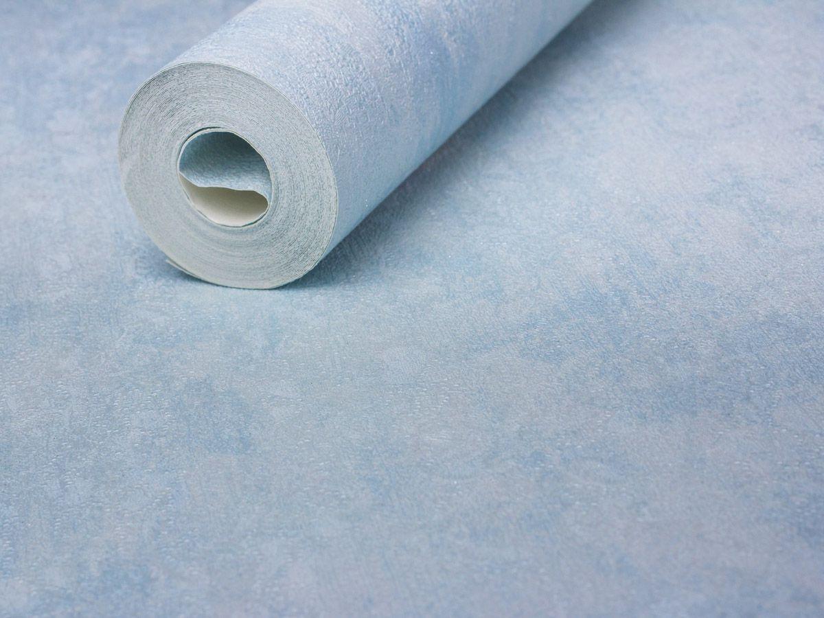 Papel De Parede Texturizado Azul Claro - 87068