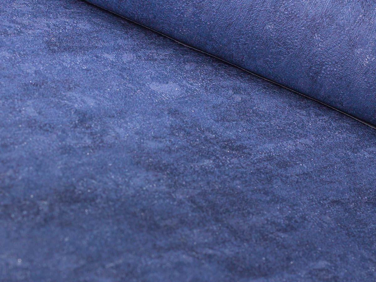 Papel De Parede Texturizado Escovado Azul Real - 87069