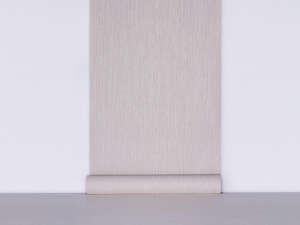 Papel De Parede Texturizado Escovado Bege Perolado - 87135