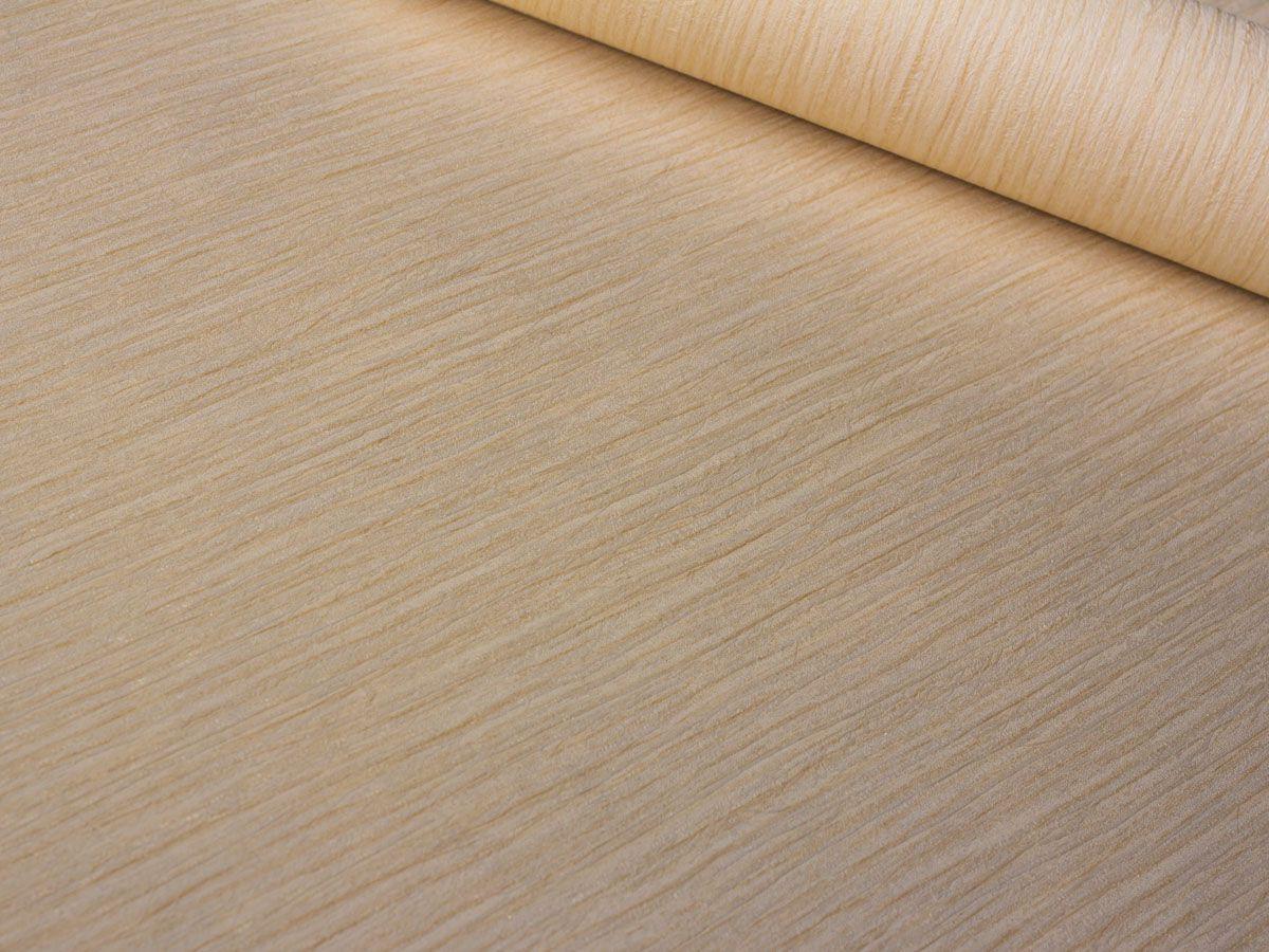 Papel De Parede Texturizado Escovado Creme - 87134