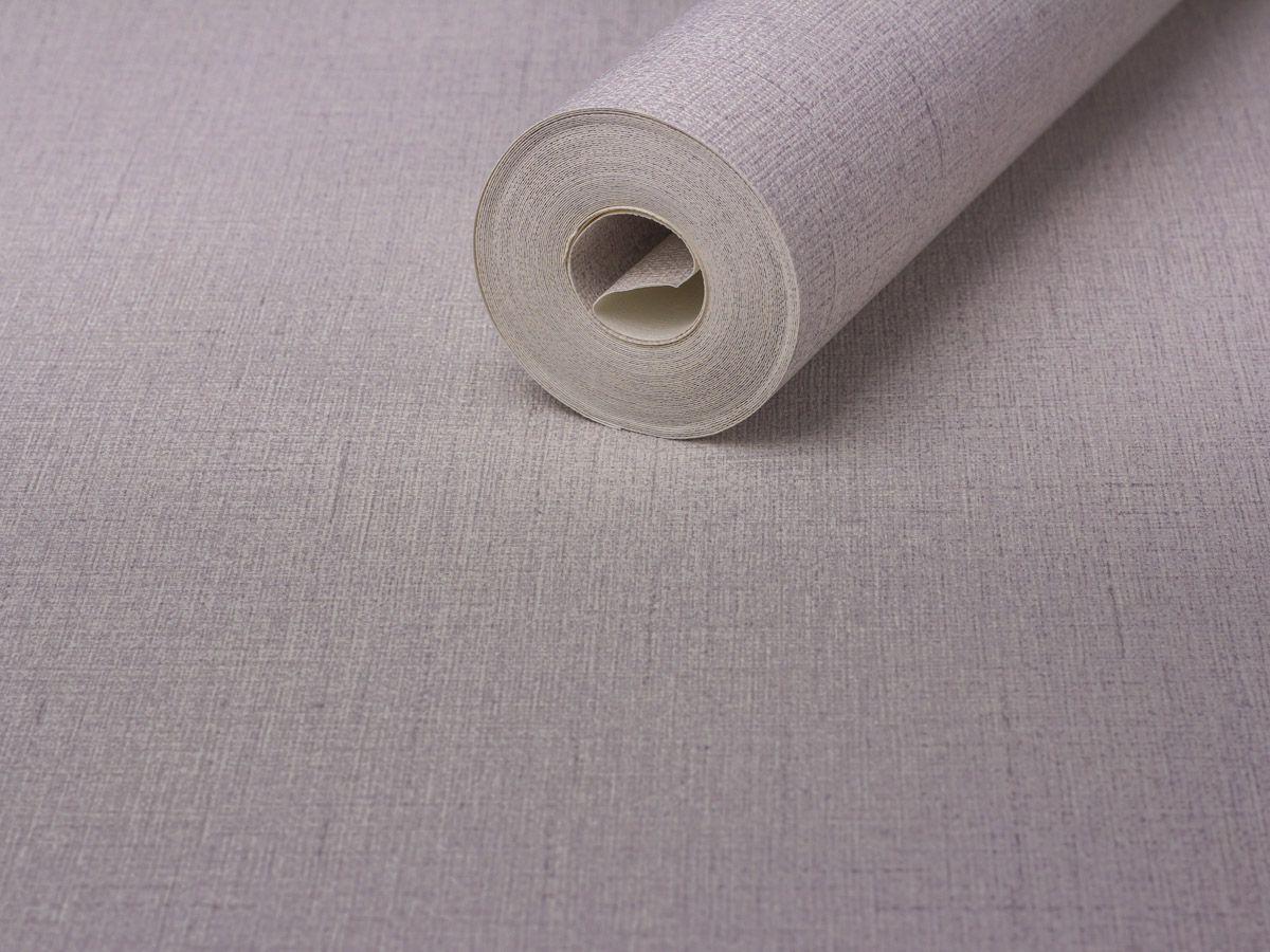 Papel De Parede Texturizado Linho Branco Gelo - 87055