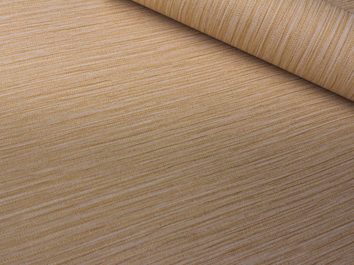 Papel De Parede Texturizado Linho Riscado Areia - 87074