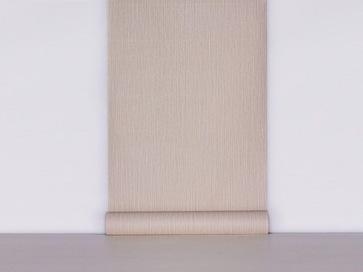 Papel De Parede Texturizado Linho Riscado Rose - 87079