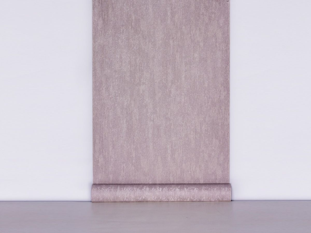 Papel De Parede Texturizado Liso Rose Acinzentado - 87167