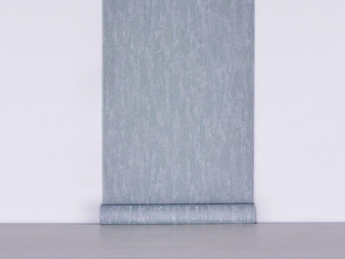 Papel De Parede Texturizado Liso Verde Menta - 87165