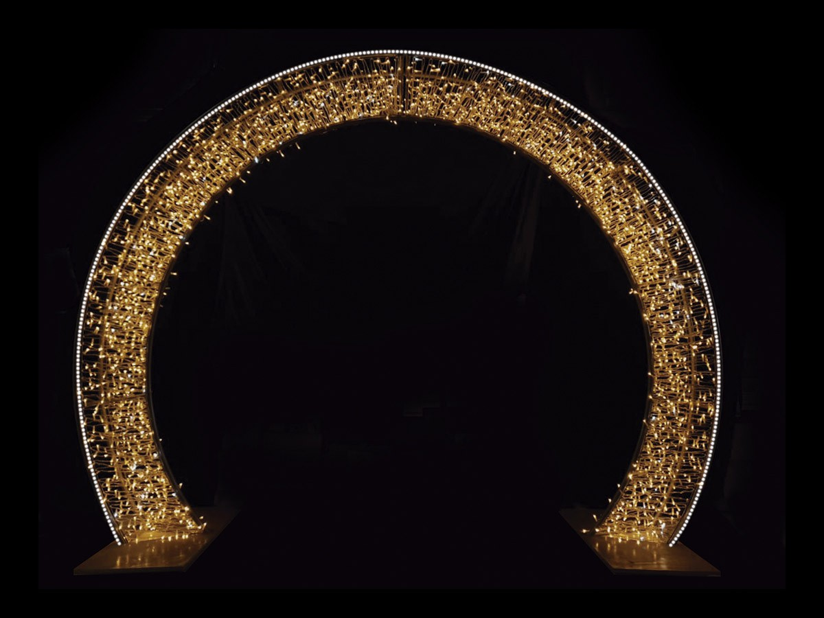 PÓRTICO ARCO LED