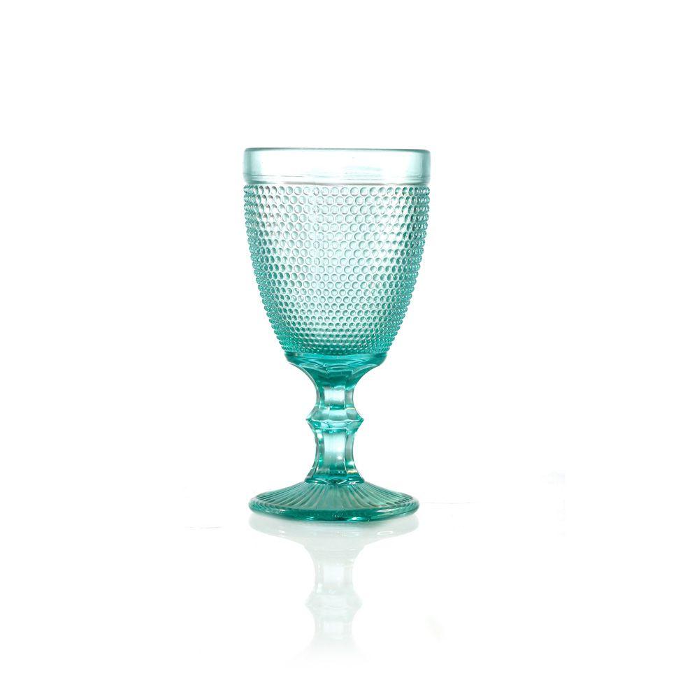 Jogo de Taças de Vidro Injertada Cores - 8,3 x 15 cm - 6332