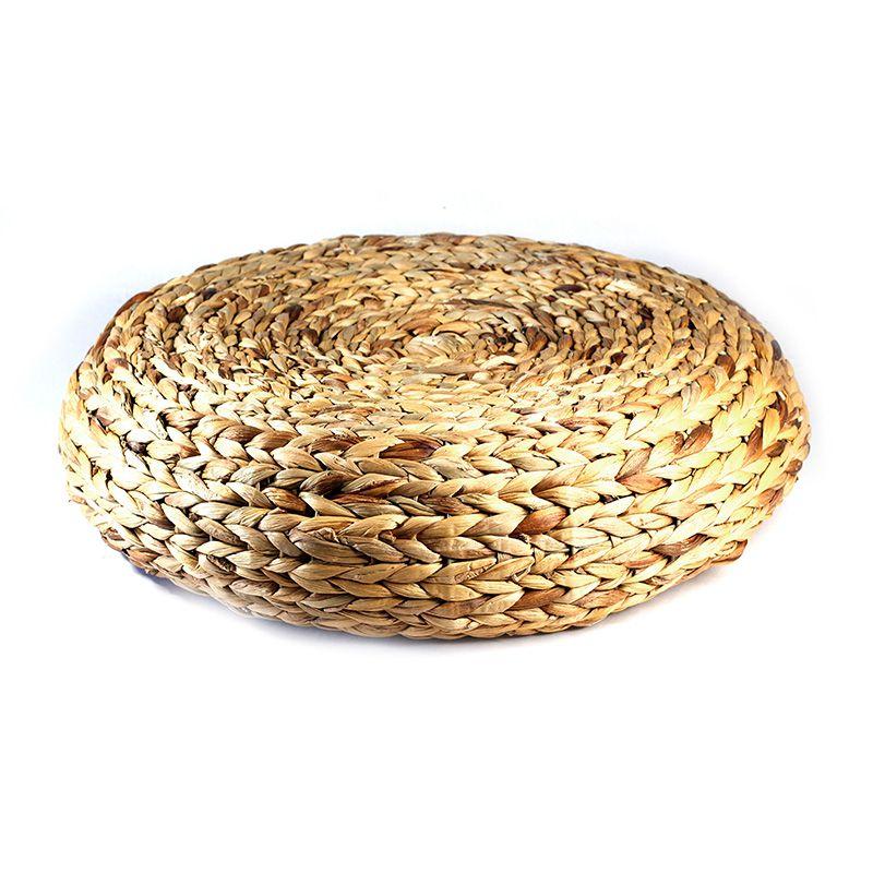 Tamborete em palha - 60 x 15 cm - 5761