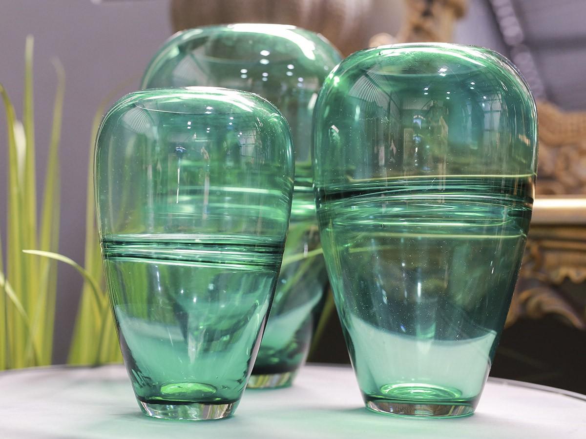 Vaso de Vidro Color - 21 x 9 cm - 6381