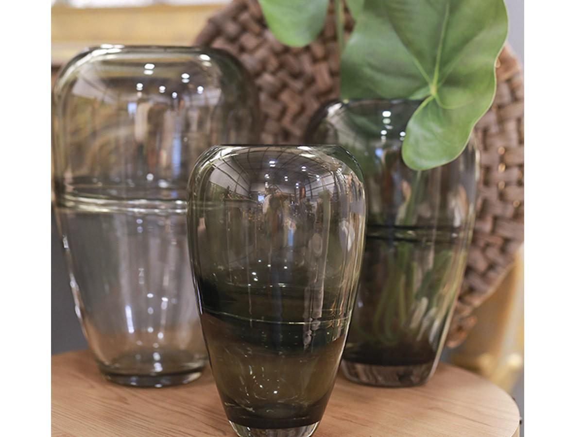 Vaso de Vidro Color - 24,5 x 10,5 cm