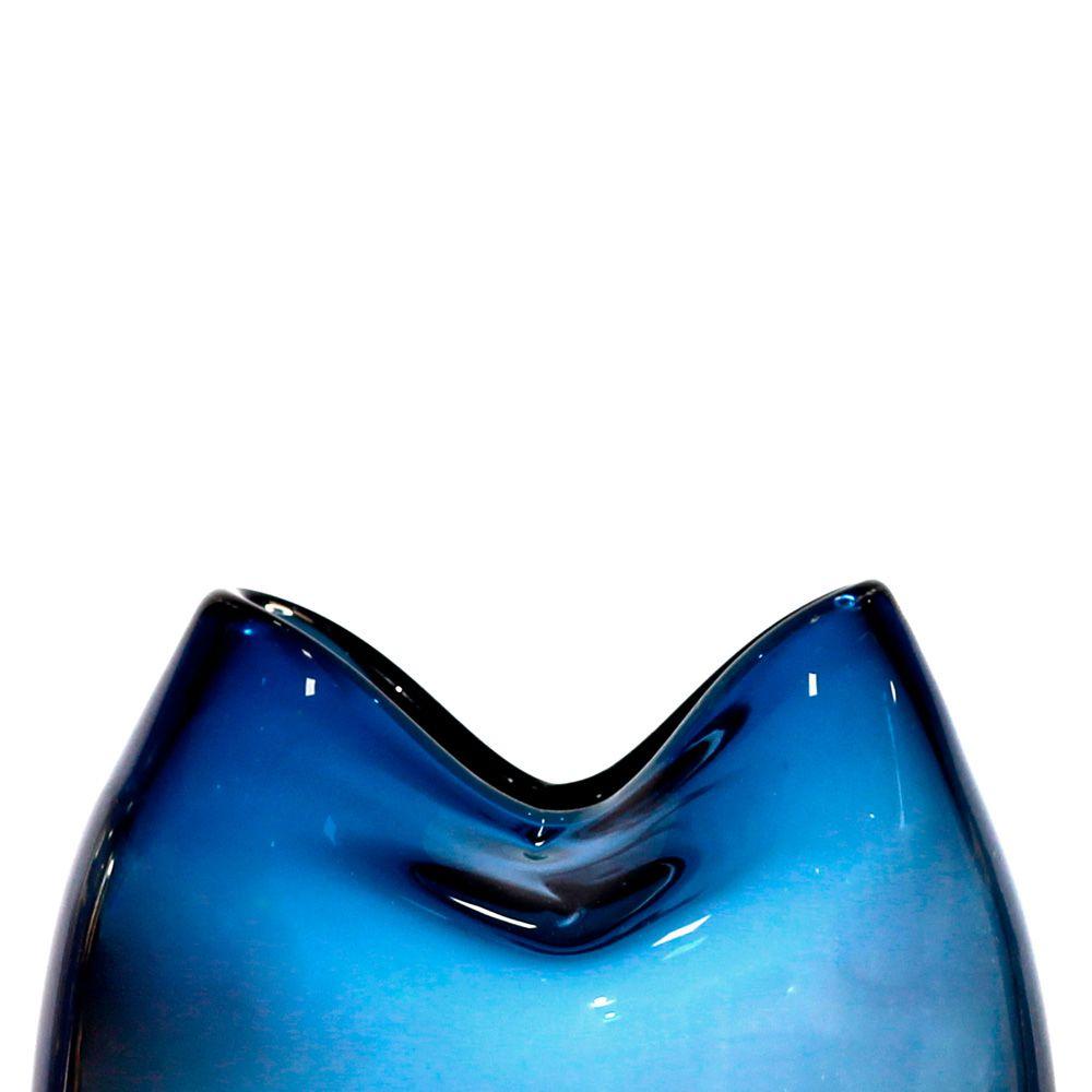 Vaso de Vidro Color - 17 x 11cm - 6361