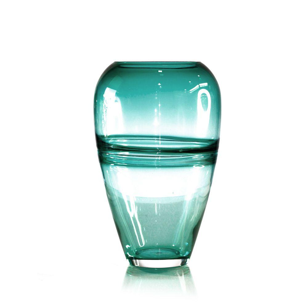 Vaso de Vidro Color - 29 x 12 cm - 6379