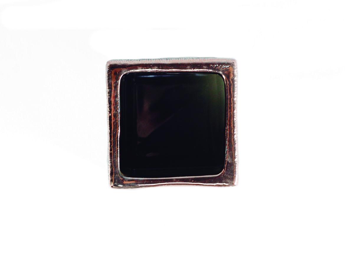 VASO EM CERAMICA ROSE GOLD 6,5X6 CM 5153