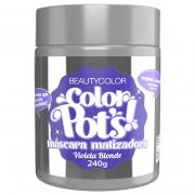 Color Pot's Máscara Matizadora Violeta Blonde 240g - Beauty Color