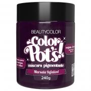Color Pot's Máscara Pigmentante Marsala Infalível 240g - Beauty Color