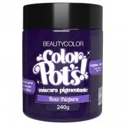 Color Pot's Máscara Pigmentante Roxo Púrpura 240g - Beauty Color