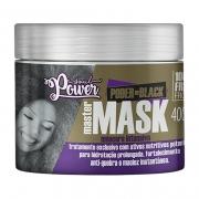 Máscara de Hidratação Poder do Black Master Mask 400g - Soul Power