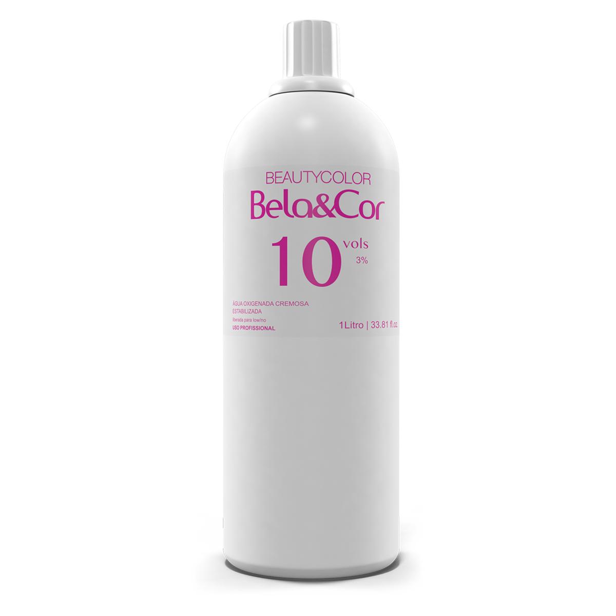 Água Oxigenada 10 volumes 1 Litro - Bela&Cor