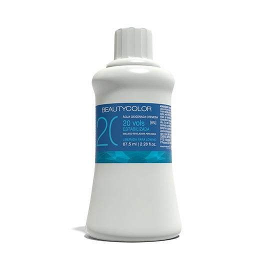 Água Oxigenada 20 volumes 67,5ml - Beauty Color