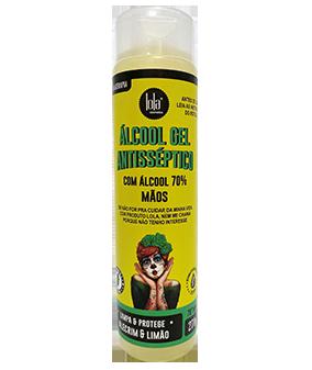 Álcool Gel Antisséptico 70% - Alecrim e Limão - 270g - Lola Cosmetics