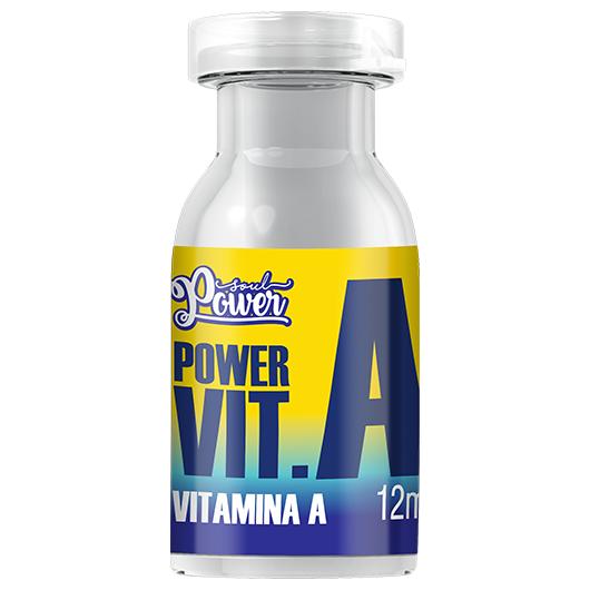 Ampola Power Vit. A 12ml - Soul Power