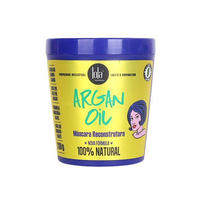 Argan Oil Máscara Reconstrutora 230g - Lola Cosmetics