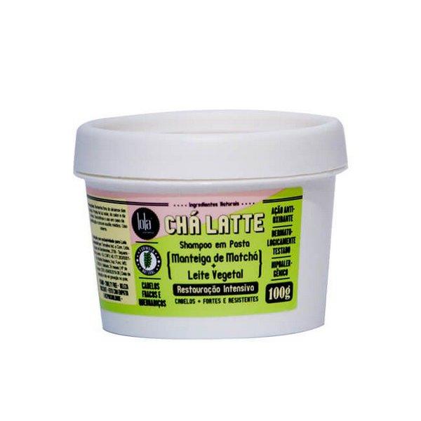 Chá Latte Shampoo em pasta Manteiga de Matchá + Leite Vegetal 100g - Lola Cosmetics