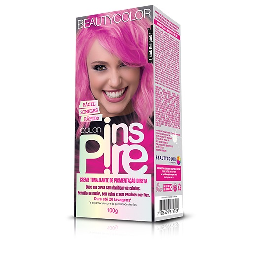 Color Inspire Tonalizante Sink The Pink 100g - Beauty Color