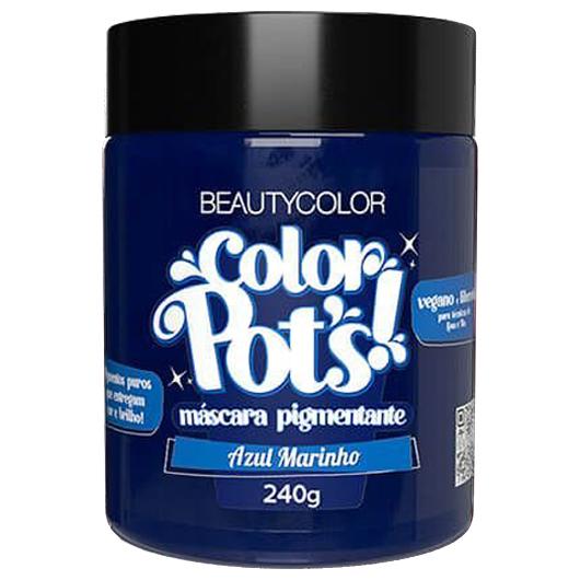 Color Pot's Máscara Pigmentante Azul Marinho 240g - Beauty Color