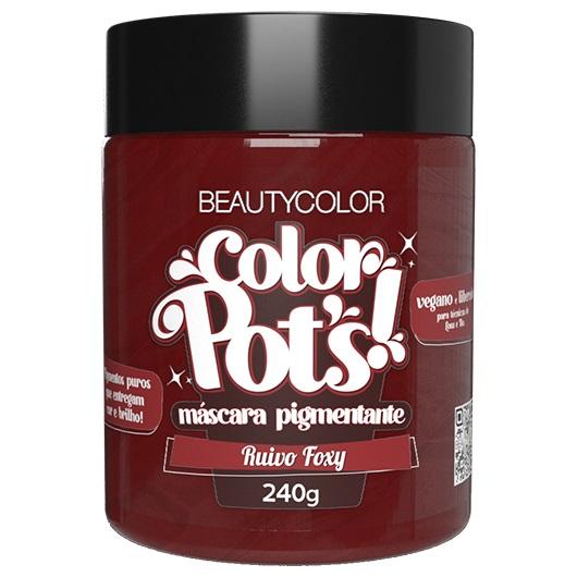 Color Pot's Máscara Pigmentante Ruivo Foxy 240g - Beauty Color