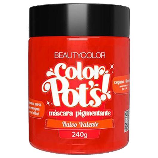 Color Pot's Máscara Pigmentante Ruivo Valente 240g - Beauty Color