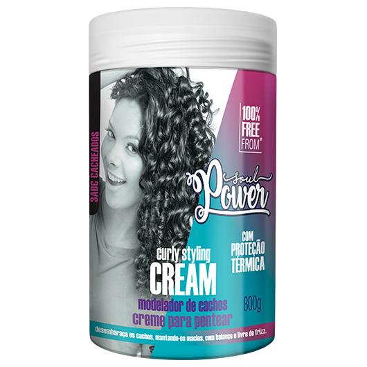 Creme de Pentear Curly Styling Cream 800g - Soul Power