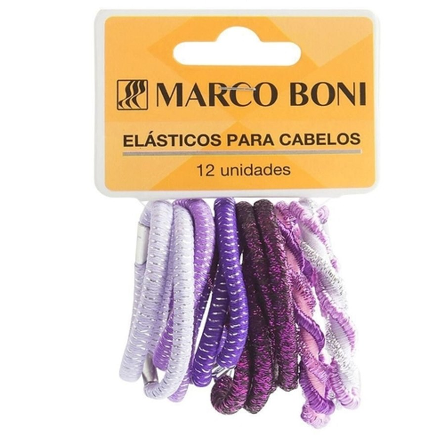 Elástico sem metal 5mm 12 unidades 8208 - Marco Boni