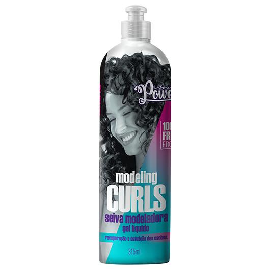 Gel Líquido Seiva Modeladora Modeling Curls 315ml - Soul Power