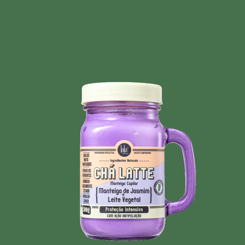 Manteiga Capilar Chá Latte - Jasmim 300g - Lola Cosmetics