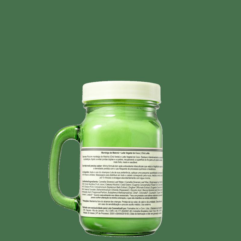 Manteiga Capilar Chá Latte - Matchá + Leite Vegetal 300g - Lola Cosmetics