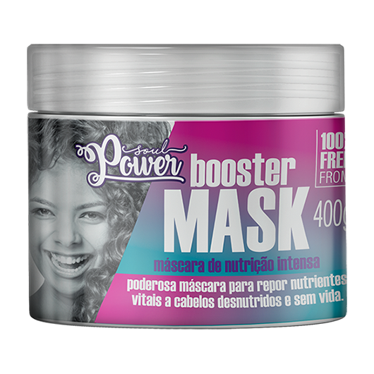 Máscara de Nutrição Intensa Booster Mask 400g - Soul Power