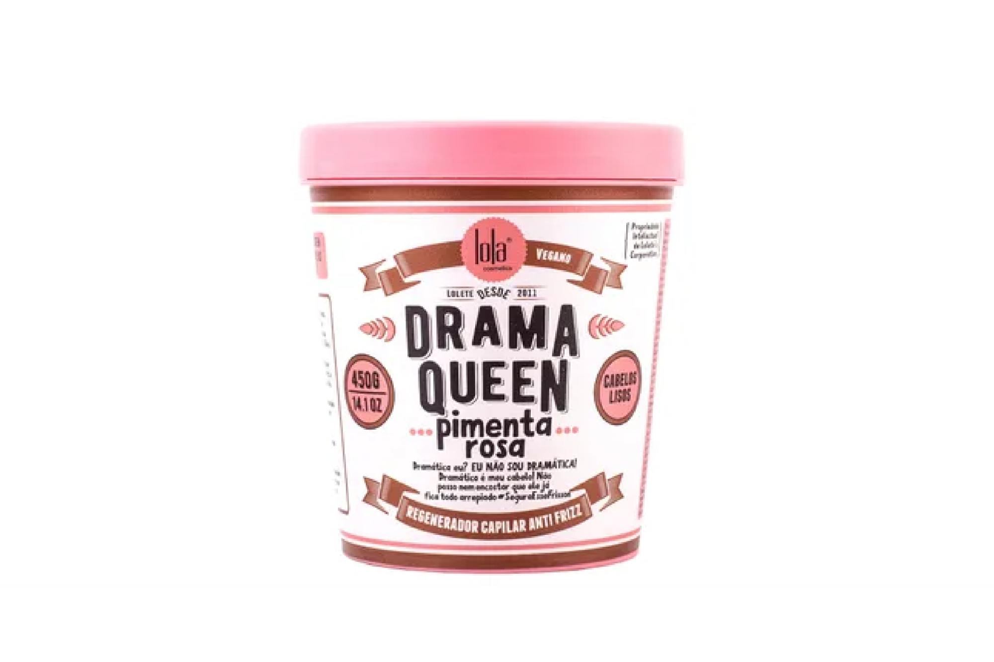Máscara Drama Queen Pimenta Rosa 450g - Lola Cosmetics