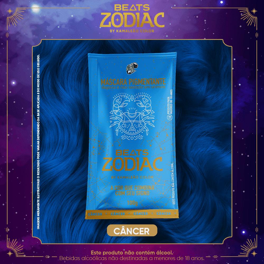 Máscara Pigmentante - Câncer 100g - Beats Zodiac by Kamaleão Color