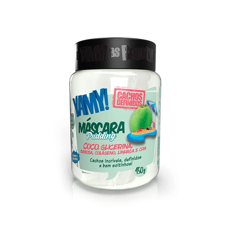 Máscara Pudding de Coco Cachos Definidos 450g - YAMY!
