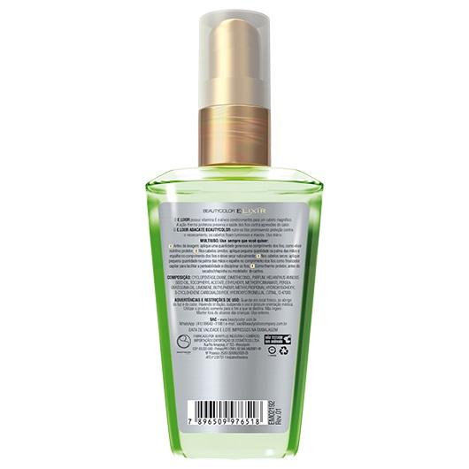 Óleo Elixir 40ml - Abacate - Beauty Color