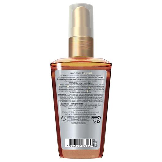 Óleo Elixir 40ml - Óleos Exóticos e Argan - Beauty Color