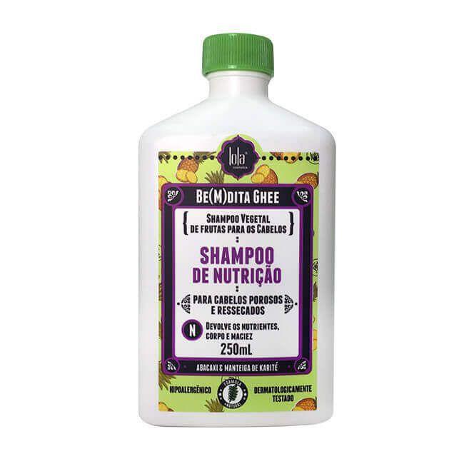 Shampoo Be(m)dita Ghee Abacaxi Nutrição 250ml - Lola Cosmetics