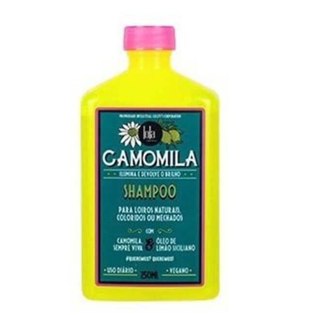 Shampoo Camomila 250ml - Lola Cosmetics