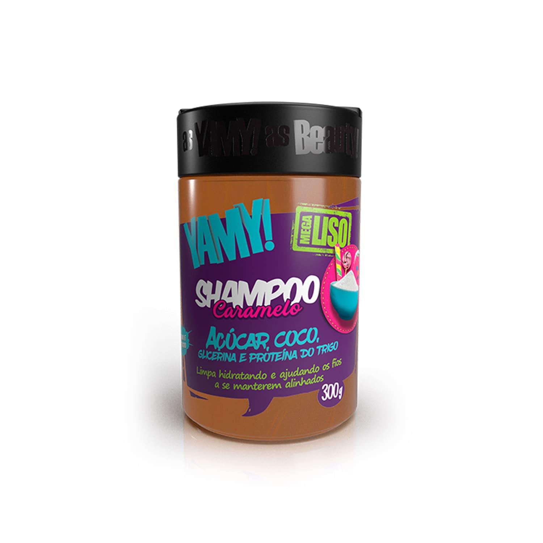 Shampoo Caramelo de Açúcar Mega Liso 300g - YAMY!