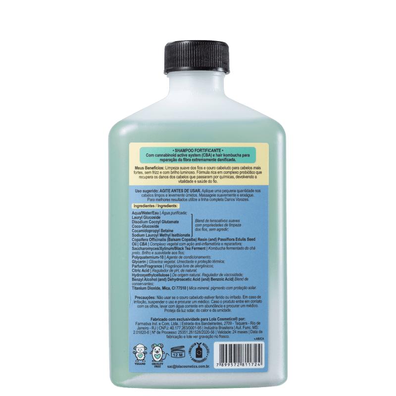 Shampoo Danos Vorazes 250ml - Lola Cosmetics