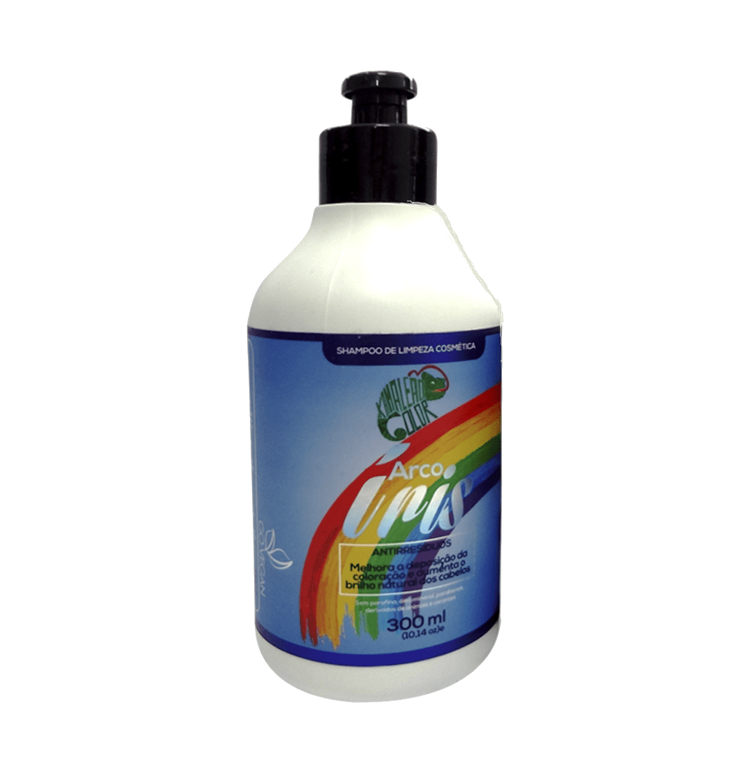 Shampoo de Limpeza Cosmética Arco-Íris - 300ml